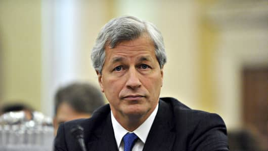Jamie Dimon, chairman, president, and chief executive officer of JPMorgan Chase & Co
